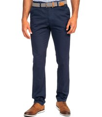 pantalón semi formal azul marino guy laroche
