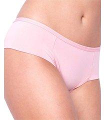 calcinha click chique biquãni pala larga conforto rosa - rosa - feminino - dafiti
