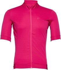 essence jersey t-shirts short-sleeved rosa craft