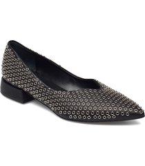 laced shoe snörade skor låga blå laura bellariva