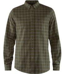 fjallraven men's ovik flannel shirt