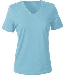 v-shirt voor haar, bleu 44