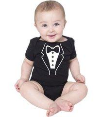 body bebe terno smoking engraçados roupa social criativa urbana