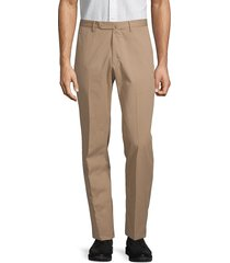 incotex men's brando dressy cotton trousers - navy - size 30