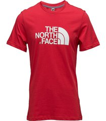 m s/s easy tee t-shirts short-sleeved multi/mönstrad the north face
