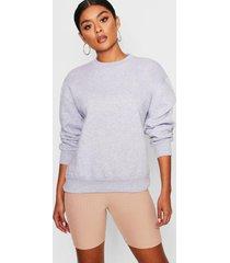 oversized sweatshirt, grey