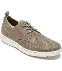 zapatos rockport oxford zaden plain toe-beige-beige