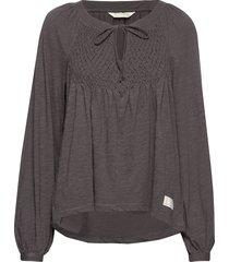 i call it life blouse t-shirts & tops long-sleeved grijs odd molly