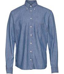 shoreditch skjorta casual blå eton