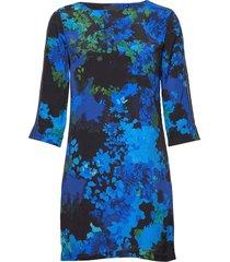 vest tennessee korte jurk blauw desigual