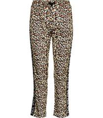 women paniz cropped pants sweatpants mjukisbyxor multi/mönstrad fila