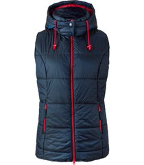 gilet trapuntato con cappuccio rimovibile (blu) - bpc bonprix collection