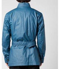 belstaff men's trialmaster jacket - airforce blue - it 52/xl