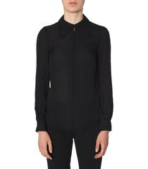 michael michael kors blouse with buttons