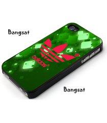 adidas dark green for iphone 4 5 5s 5c 6 6s 6plus 7 7plus se samsung htc case