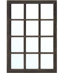 lustro window brown-black
