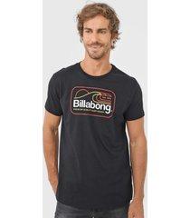 camiseta billabong dive preta
