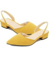 punta-talón puntera plana zapatos de mujer mujeres sandalias dama calzado casual dreamgirl tiras zapatos
