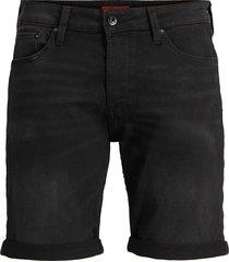 jack & jones rick 12166274 noos jjirick jjicon shorts ge 010 i.k sts black denim jack jones zwart
