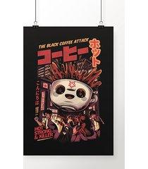 poster black coffee attack