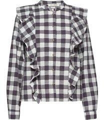 shirt blouse lange mouwen zwart sofie schnoor