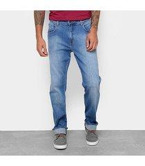 calça jeans slim forum estonado cintura alta history masculina