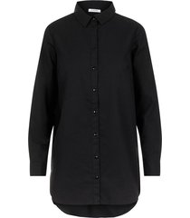 hemd longline baumwoll