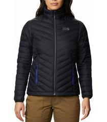 parka mujer hotlum w jacket negro mountain hardwear