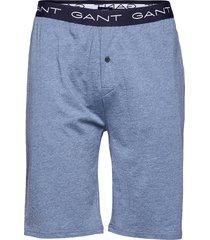jersey pajama shorts shorts casual blå gant
