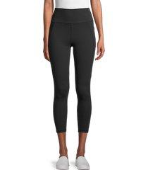 x by gottex women's capri leggings - multi camo - size m