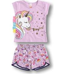 pijama marisol roxo - kanui