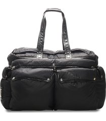 céline pre-owned pre-owned padded travel bag - black