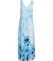 abito estivo a fiori (blu) - bodyflirt