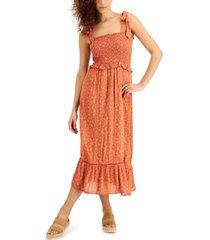 lost + wander sun up maxi dress