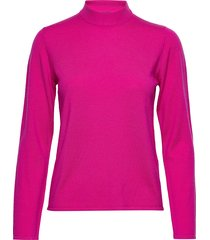 marmori solid knitted pullover stickad tröja rosa marimekko