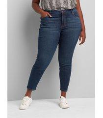 lane bryant women's signature fit skinny jean - medium wash 38/40 medium denim