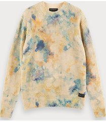 scotch & soda cotton-blend tie-dye pullover