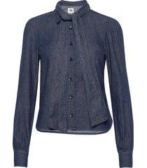 thelma blouse blouse lange mouwen blauw twist & tango