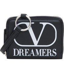 valentino garavani vlogo dreamers neck wallet wallet