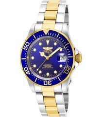 reloj invicta 17042 acero, oro acero inoxidable