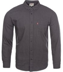 levi's men's one pocket twill shirt