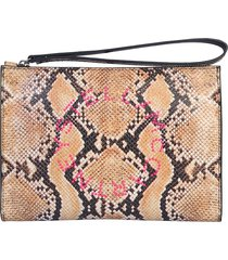 stella mccartney designer handbags, clutch with logo