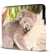 capa para notebook coala 15 polegadas - amarelo - dafiti