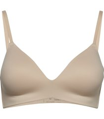 padded bra lingerie bras & tops push-up bra beige schiesser