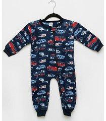 macacão bebê candy kids pijama soft zíper