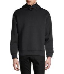 emporio armani men's ea tech hoodie - navy - size xxl