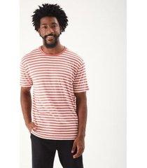 t-shirt zinzane flame confort listras masculina - masculino