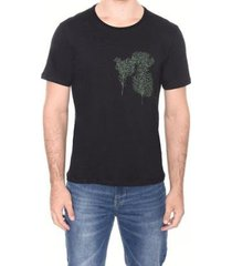 camiseta c mc gola c silk amazônia masculina - masculino