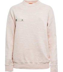 camouflage fleece sweatshirt