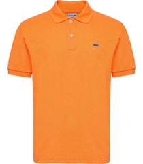 lacoste poloshirt short sleeves polos short-sleeved oranje lacoste